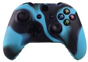 258stickers® Xbox One Controller Silicone Protective Case - Black Blue Camo