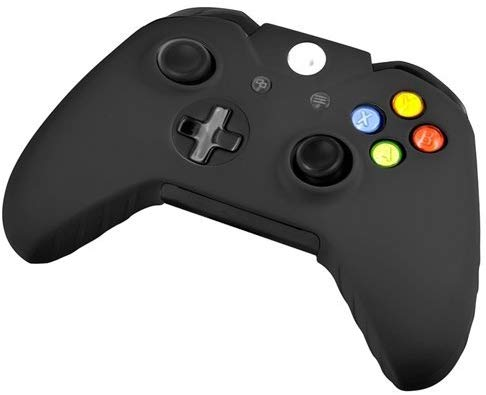 E'max® Soft Silicone Gel Rubber Grip Controller Protective Case Cover For Wireless Xbox One Controller-Black