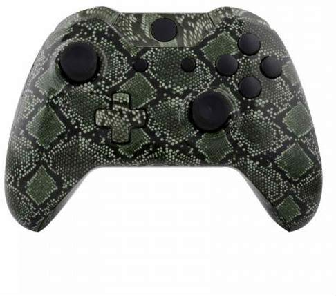 ModFreakz™ Shell Kit Hydro Dipped Green Snake For Xbox One Model 1537 Controllers
